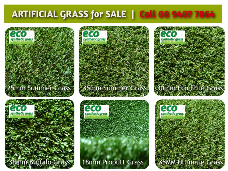 Synthetic grass products for sale in Perth