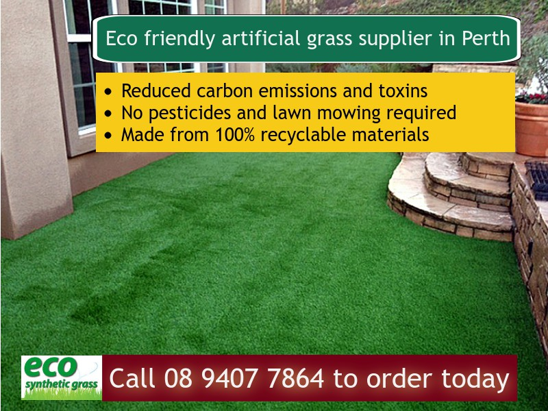 Eco friendly synthetic grass supplier in Perth