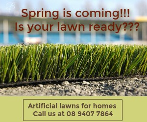 Artificial lawns supplier in Perth