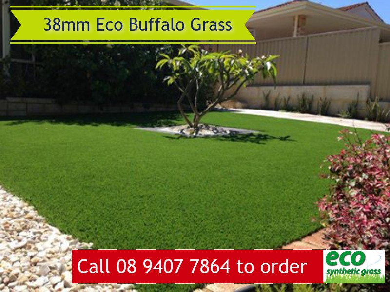 38mm Eco Buffalo Artificial Grass in Perth