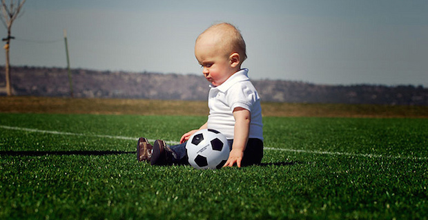Artificial grass play areas safe for kids
