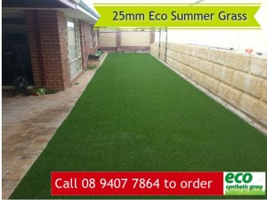 25mm Eco Summger Artificial Grass in Perth