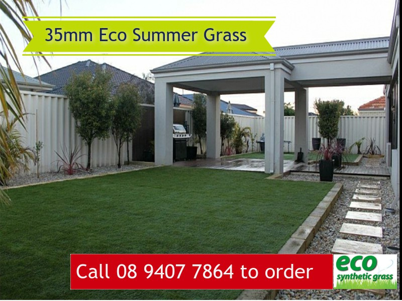 35mm Eco Summer Artificial Grass in Perth