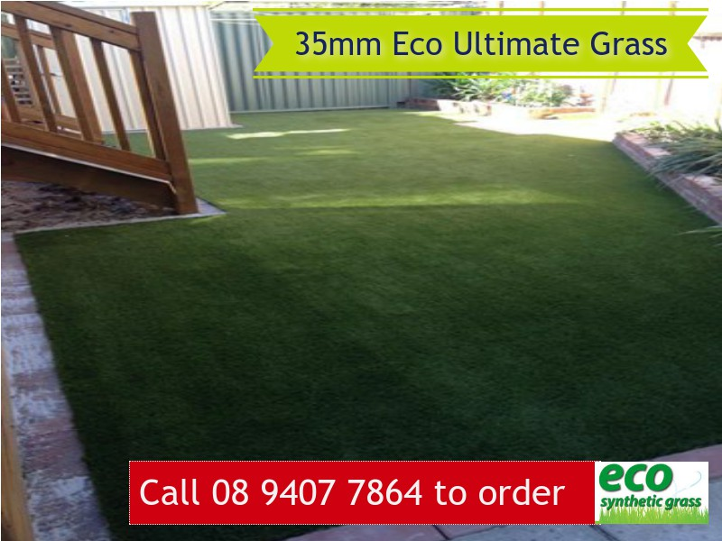 35mm Eco Ultimate Artificial Grass in Perth
