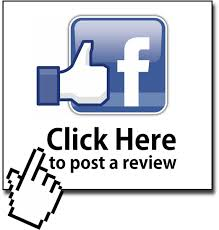 Post your review via Facebook