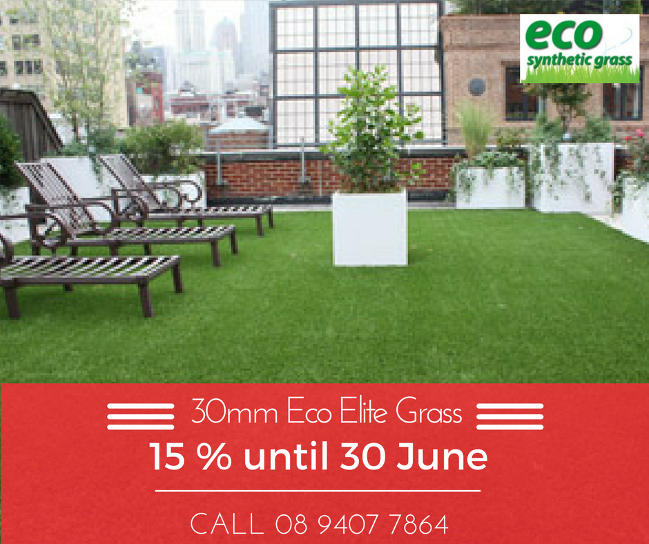 15% off elite artificial grass